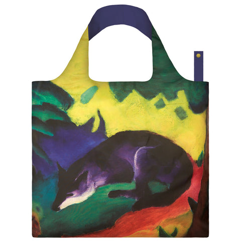 LOQI Shopping Bag Museum Collection - Blue Fox