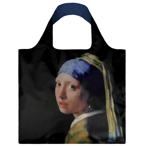 LOQI Shopping Bag Museum Collection - Girl with a Pearl Earring