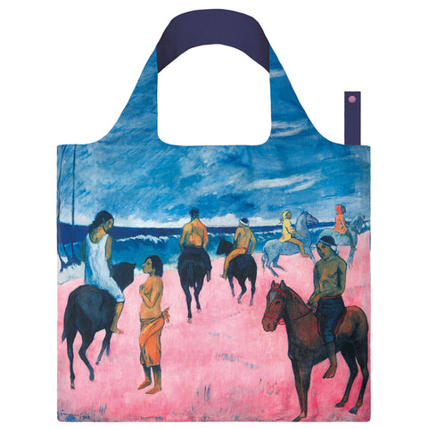 LOQI Shopping Bag Museum Collection - Horseman on the Beach
