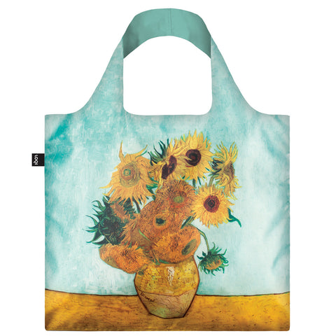 LOQI Shopping Bag Museum Collection - Sunflowers