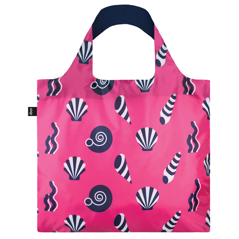 LOQI Shopping Bag Nattical Collection - Shells
