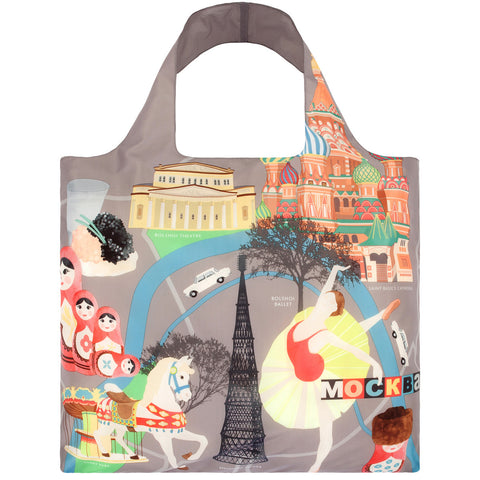 LOQI Shopping Bag Urban Collection - Moscow
