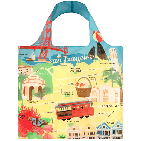 LOQI Shopping Bag Urban Collection - San Francisco