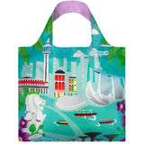 LOQI Shopping Bag Urban Collection - Singapore