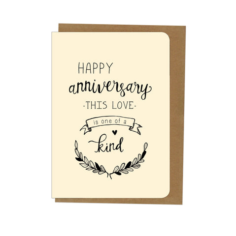 An April Idea Card - Happy Anniversary this love