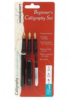 Manuscript Calligraphy 3 Nib Beginners Set