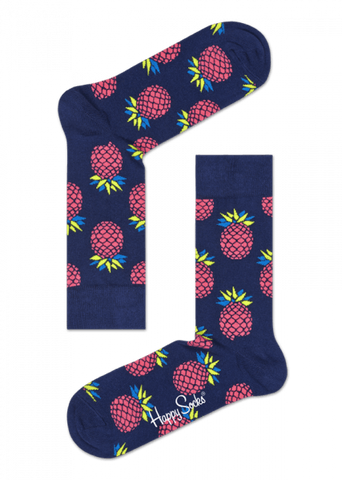 Pineappe Sock Navy