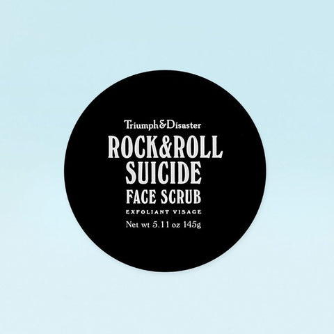 Rock & Roll Suicide - Volcanic Ash & Green Clay Face Scrub