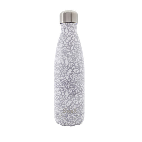 S'well Monochrome Collection Insulated Bottle 500ml - White Lace