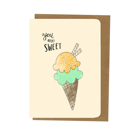 An April Idea Card - Icecream