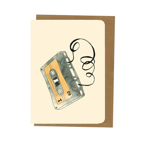 An April Idea Card - Cassette