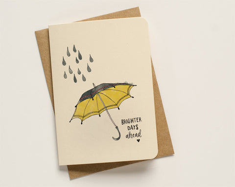 An April Idea Card - Umbrella