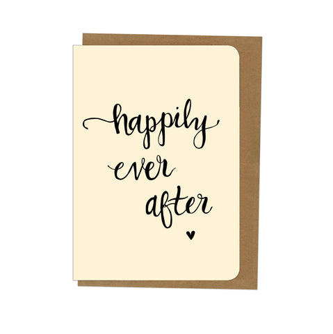 An April Idea Card - Happily Ever After