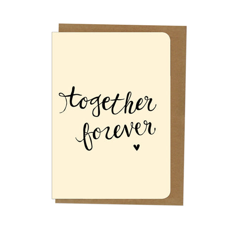 An April Idea Card - Together Forever