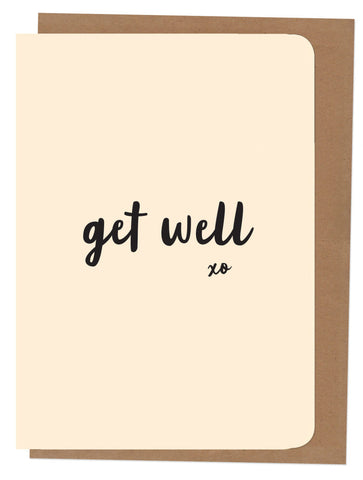 An April Idea Card - Get Well