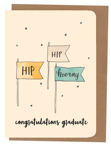 An April Idea A4 Card - Congratulations Graduate