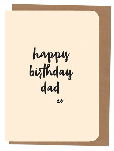 An April Idea Card - Happy Birthday Dad