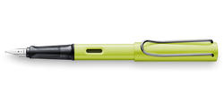 Lamy AL- Star Fountain Pen - Charged Green