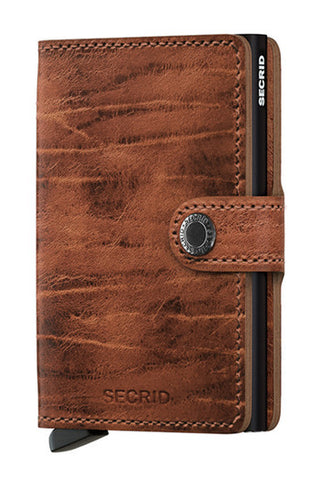 Secrid Miniwallet Whiskey Dutch Martin Wallet