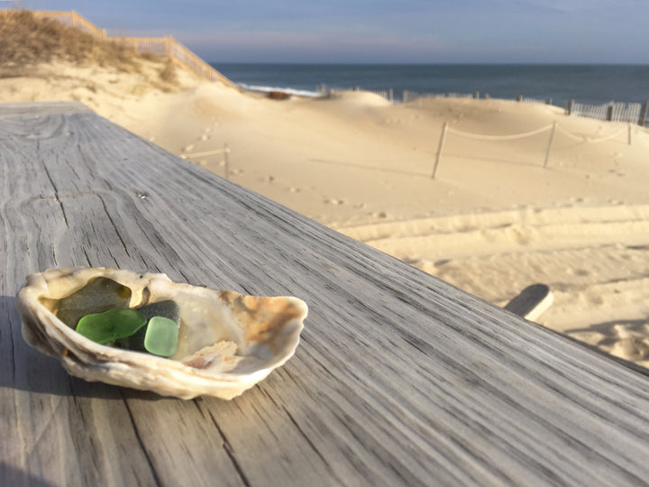 Beach Glass on the Outer Banks