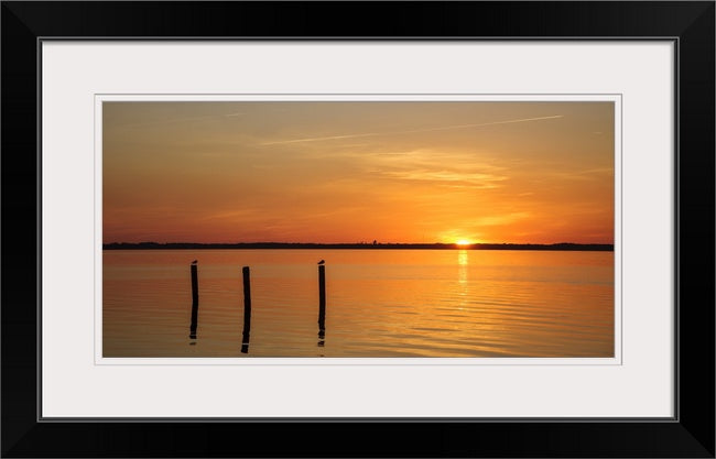 Duck Sunset - Mission Art OBX