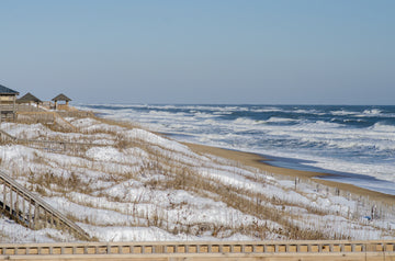Snow Dunes at Abalone - Mission Art OBX