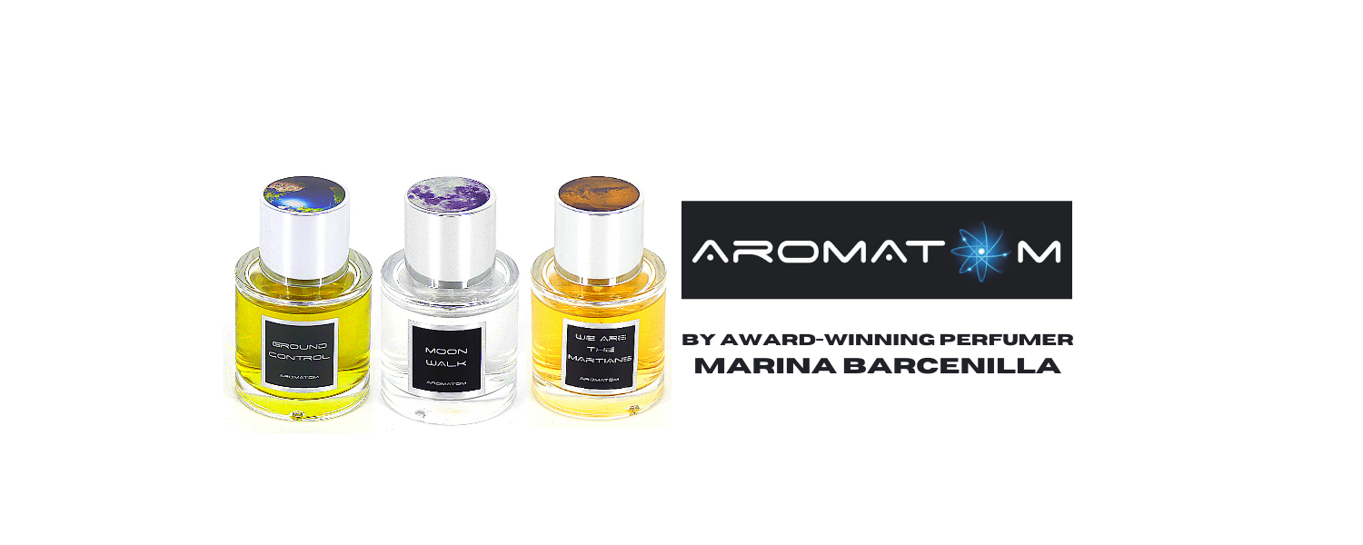 AromAtom space science perfumes by marina barcenilla