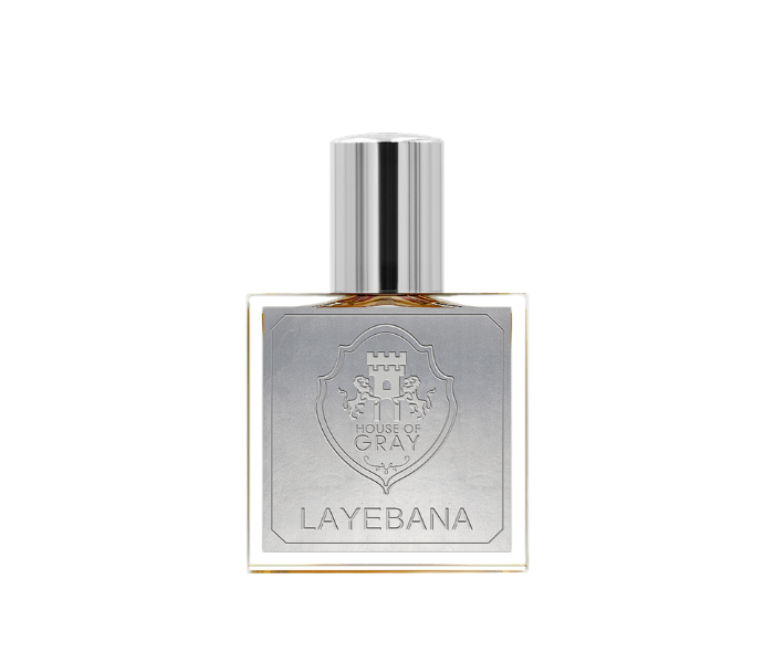 Layebana by House of Gray Oriental floral niche perfume with sampaguita, reverse smoking finely aged tobacco, milky animalic accord of pastillas