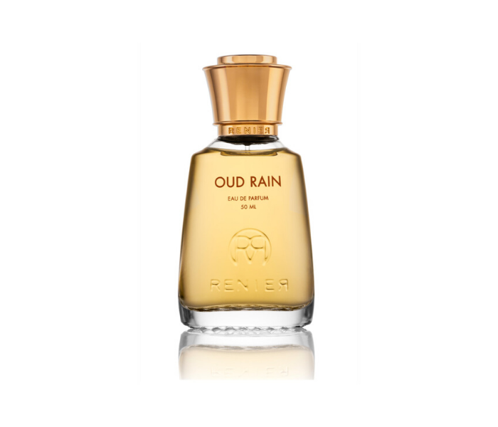 Oud Rain by Renier Perfumes at AVÉ PARFUM oud perfume with tropical fruits and vegan animalic accord