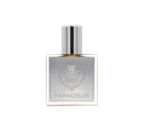 Paradisus by House of Gray niche perfume orris root, soil, fresh air, ozone, palo santo, garden of eden feel, spirituality, aura cleanse