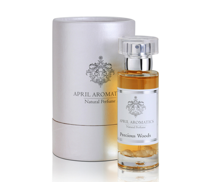 Precious Woods Organic Perfume by April Aromatics - AVÉ PARFUM