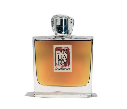 Smolderose 100ml bottle by January Scent Project - AVÉ PARFUM