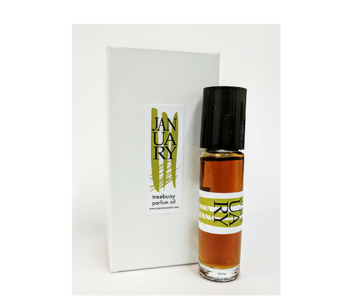 Treebuoy Perfume Oil with box by January Scent Project - AVÉ PARFUM