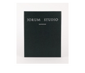 Jorum Studio at AVÉ PARFUM packaging for full bottles 30ml / 1 ounce black with silver inscription writing