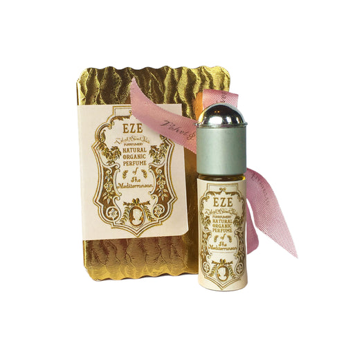 Eze Kittylicious perfume oil roller ball by Velvet & Sweet Pea's Purrfumery vegan beauty gold box
