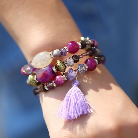 Multilayer Beads Bracelet
