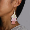 Tritone Tassel Earrings