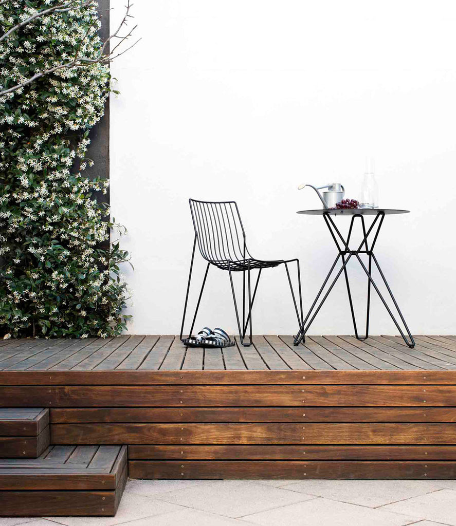 Decking and Wire Furniture Jasmine feature wall