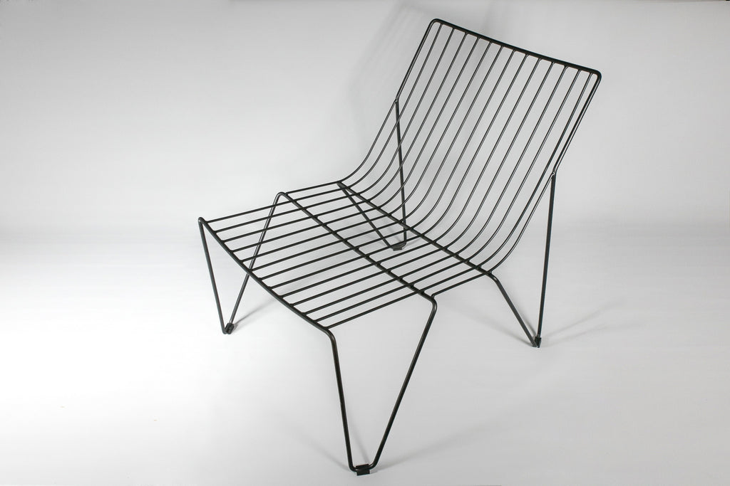Mixed Steel Wire Lounge Chair