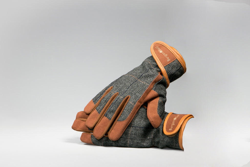 Burgon & Ball Tweed and Leather Garden Glove