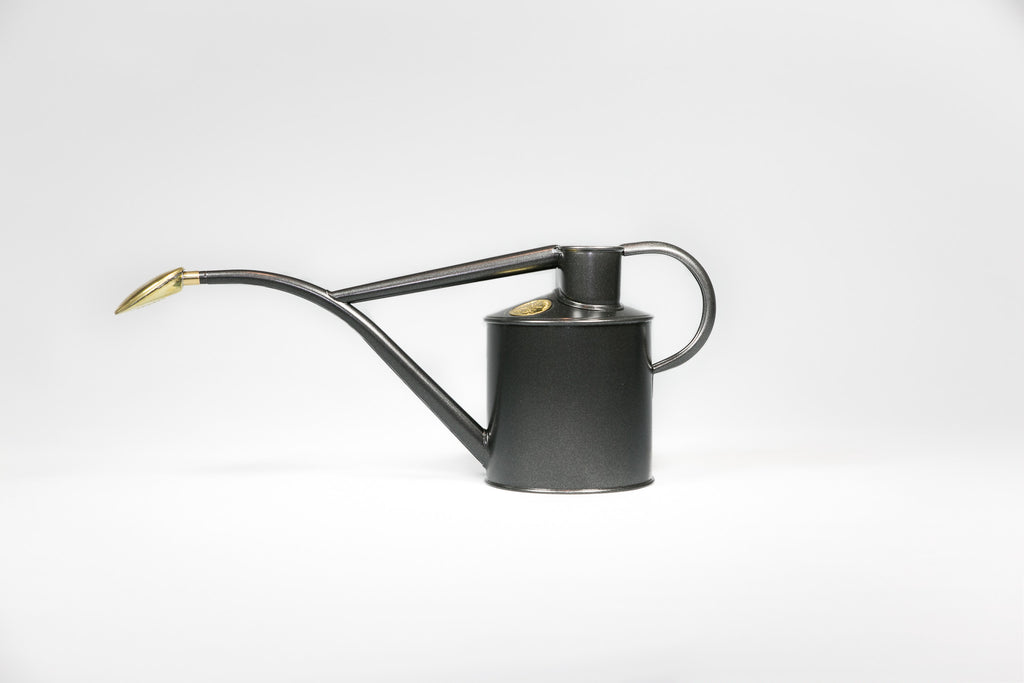 Indoor Graphite Watering Can 1L