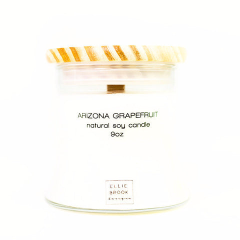 Arizona Grapefruit Natural Soy Candle