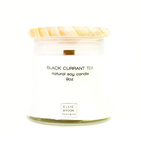 Black Currant Tea Natural Soy Candle