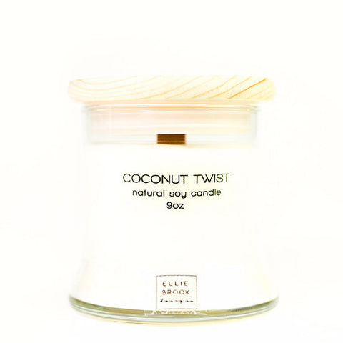 Coconut Twist Natural Soy Candle