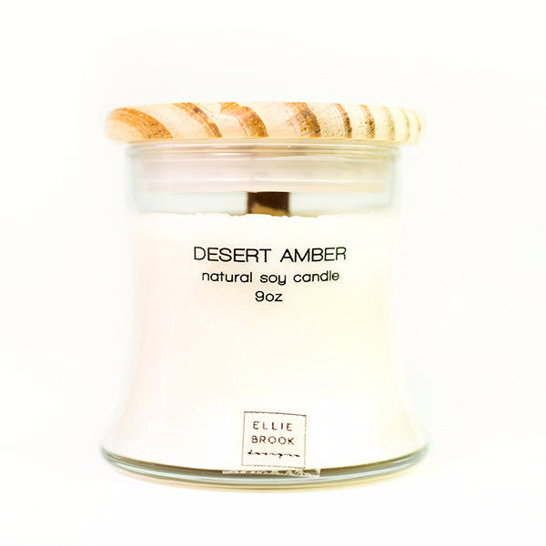 Desert Amber Natural Soy Candle