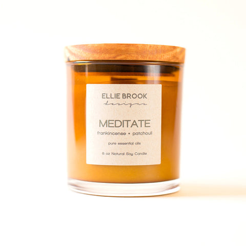 Meditate Essential Oil Candle