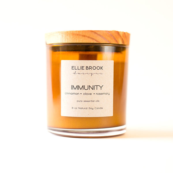 Immunity Essential Oil Candle