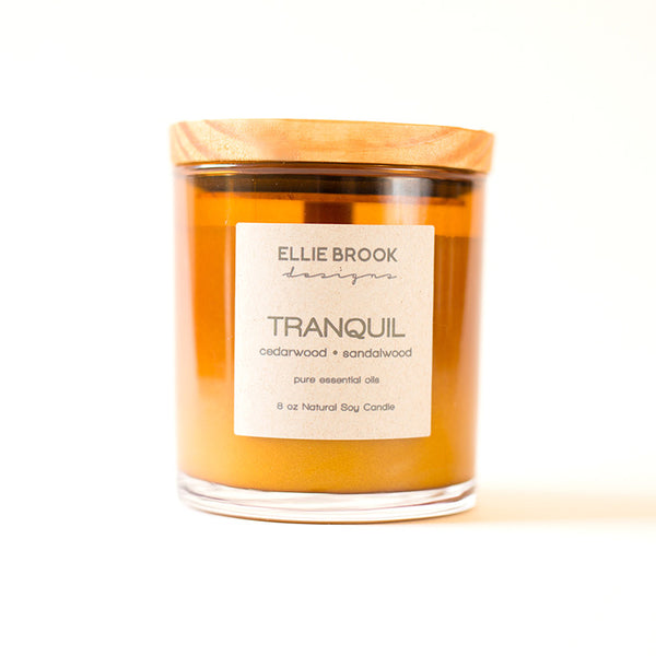 Tranquil Essential Oil Candle