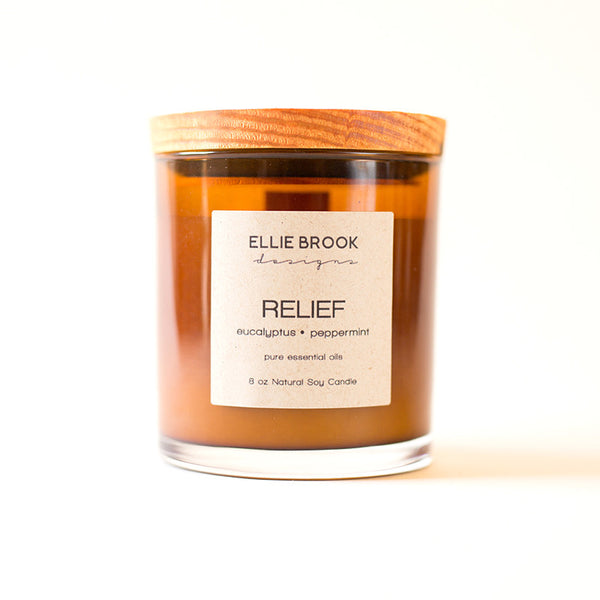 Relief Essential Oil Candle