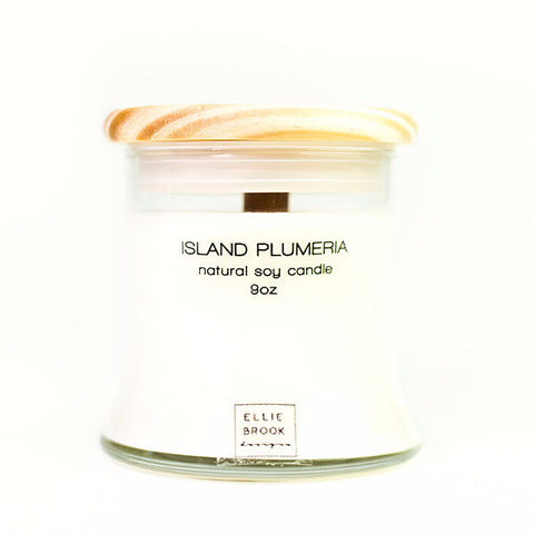 Island Plumeria Natural Soy Candle